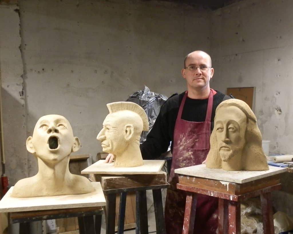 Atelier de Groot, bronzen beelden