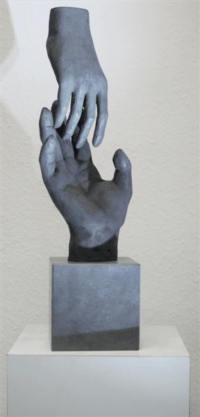 diverse bronzen beelden en mogelijkheden, ne_me_quitte_pas_Medium
